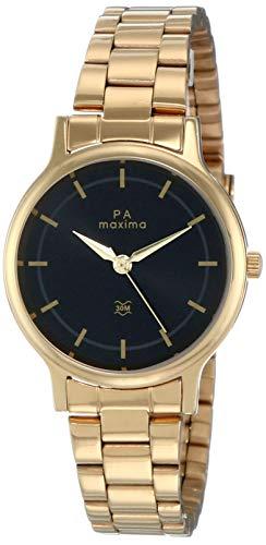 Maxima Analog Black Dial Women's Watch - 48234CMLY