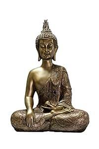 Embark Moderno Gold sitting Buddha Idol