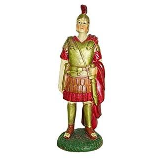 Ferrari & Arrighetti Figuras Belén: Soldado Romano de la Guardia Pretoriana – Colección Martino Landi para Nacimiento de 12 cm