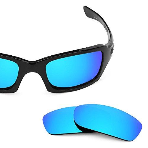 sunglasses restorer Basic Ersatzgläser Ice Blue für Oakley Fives Squared