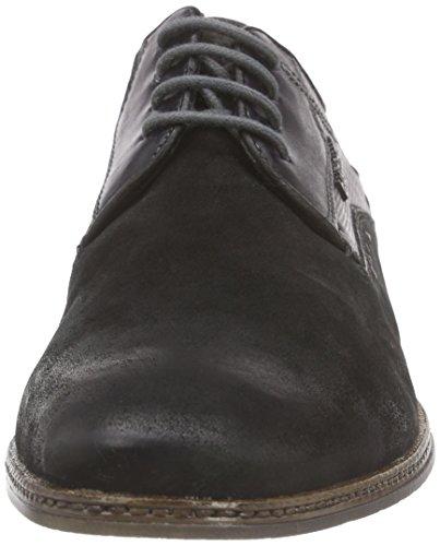 bugatti 311144013411 Herren Derby Schwarz (black  black 1010)