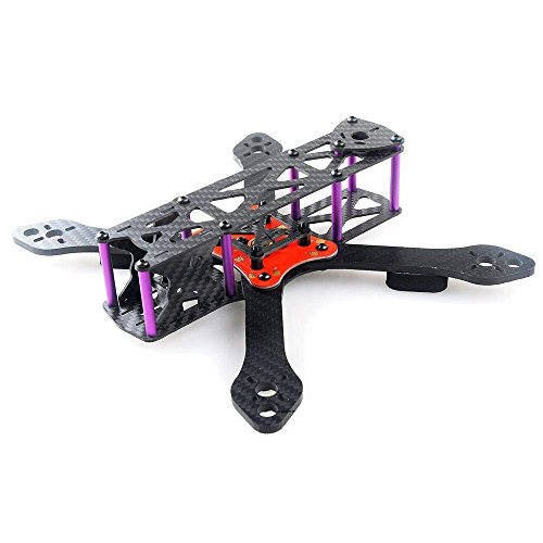 Martian II RX255 FPV Racing Drone Carbon Fiber Quadcopter Frame like QAV250 etc (4MM)