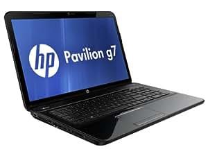 "HP Pavillon g7-2043sf Ordinateur portable 17,3"" (43,9 cm) Intel pentium 500 Go RAM 4000 Mo Window 7 Premium AMD Radeon HD 7670M Noir"