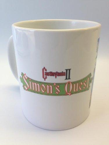 Castlevania 2: Simon's Quest 11oz Ceramic Coffee Mug by Cotton Cult - Belmont Cup