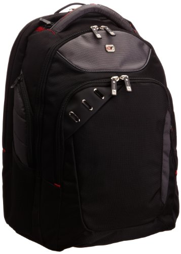 Gino Ferrari Acero, Unisex-Erwachsene Laptop-Tasche schwarz schwarz/grau