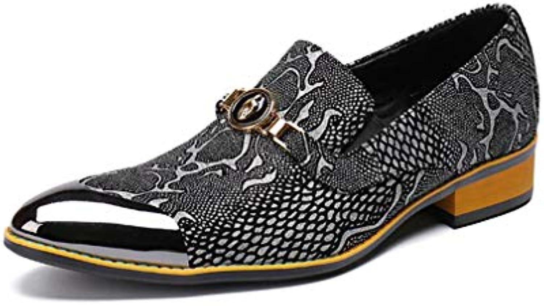 YaXuan 2018 New Hommes  décontractées 's Leather Shoes, Chaussures de Sport décontractées  à Bout Pointu, Printemps Automne Chaussures...B07G5WLSSYParent 95ff93