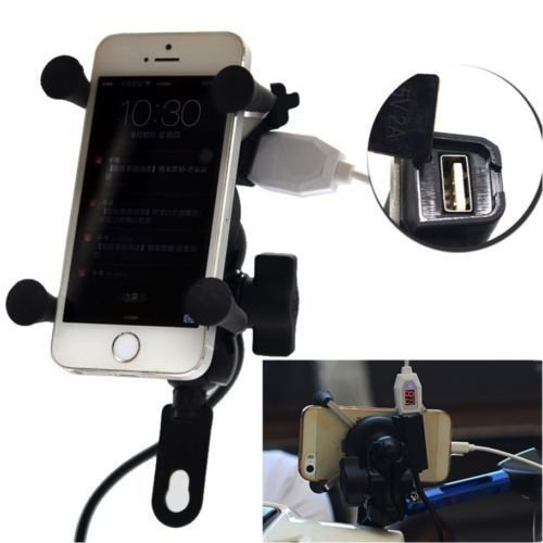 easy4buy spider bike mobile holder with usb charger mototrcycle mobile holder bracket for-royal enfield electra delux EASY4BUY Spider Bike Mobile Holder with USB Charger Mototrcycle Mobile Holder Bracket For-Royal Enfield Electra Delux 41IwvDYRyWL