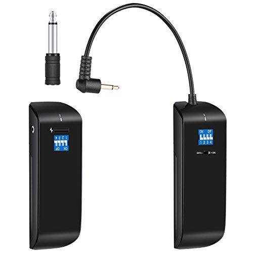 Neewer 16 Kanal 2.4G Funk Studio Blitzauslöser Empfänger Sender Set für Canon Nikon Sony Pentax Olympus DSLR Kamera und VISION4 VISION5 usw Strobe Monolight mit Standard Sync Anschluss (RC100) -
