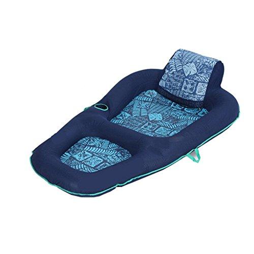 XINGQIANRU Wasserliege Wasserschwimmtasche Schwimmende Reihe Freizeitbett Aufblasbare Sonnenbaden Schwimmausrüstung