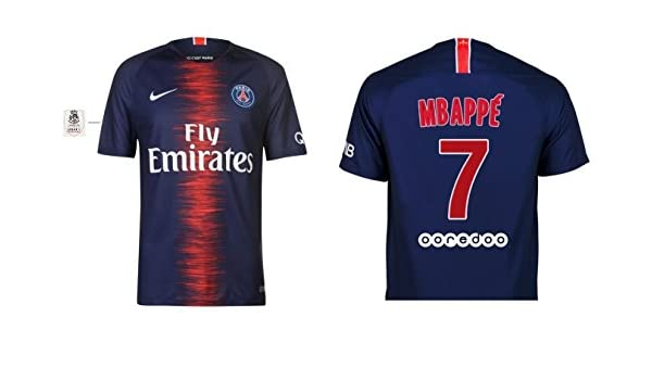 paris saint germain t shirt kylian mbapp offizielle kollektion von paris saint germain. Black Bedroom Furniture Sets. Home Design Ideas