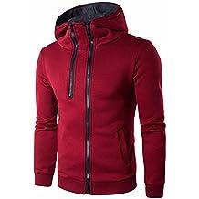 JYJM Herren Sweater Herrenmode Zipper Jacket Herren Wild Slim Explosive  Casual Wear Herrenjacke Herren Double Zipper 7455abda92