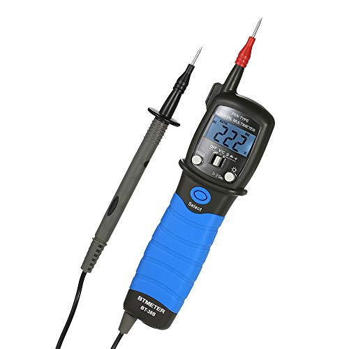 Docooler BTMETER Digitales Multimeter-Handheld-LCD-Display Multimeter DC/AC-Spannungsmessgerät Widerstand Dioden-Durchgangsprüfer Handheld-multimeter