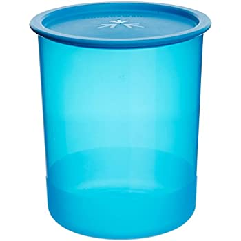 Signoraware Center Press Container, 2 Litres, Set of 1, T Blue