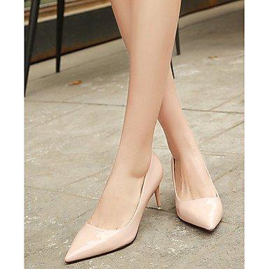Moda Donna Sandali Sexy donna caduta tacchi Comfort brevetto Casual in pelle Stiletto Heel altri nero / rosa / rosso / bianco / Argento Altri Silver
