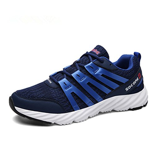 Men's Zapatos Hombre Low Top Athletic Training Shoes Navy