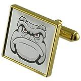 Dog Cartoon gold Manschettenknöpfe Wählen Sie Geschenke Beutel