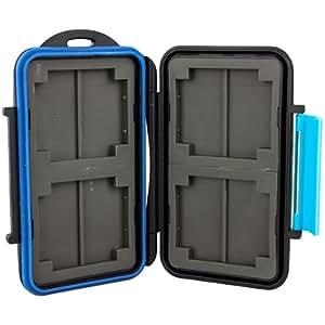 Boîte de protection espaces de memoire - étanche et extrême solide - pour Compact Flash et SD(HC)