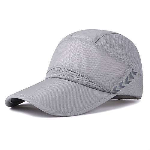 ing Breathable Running Outdoor Hat Cap Only 2 Ounces (Gray) ()