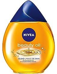 Nivea Beauty Oil Ölbad Badezusatz (mit 87% Ölen, für trockene Haut), 1er Pack (1x 250 ml)