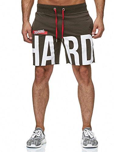 Red bridge uomo pantaloncini casual di base stampare short