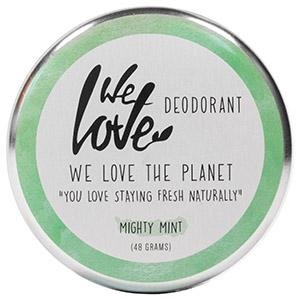 We Love The Planet: Deocreme Mighty Mint (48 g) (Natürliches Deodorant Mint)