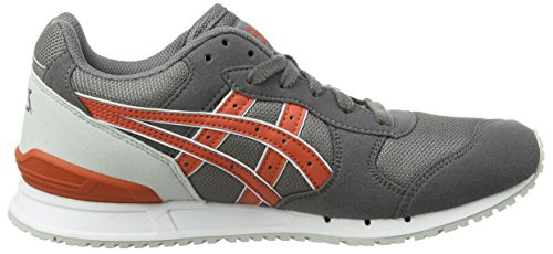 Asics Gel-Classic, Baskets Basses Mixte Adulte Gris (grey/chili 1124)