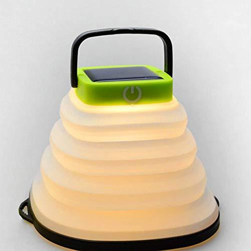GUAN Solar - Camping - Lampe Kora - teleskop - LED - Laterne aufblasbare tragbare Zelt Licht -