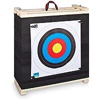 TARGET est Zielscheibe für Bogenschießen, Armbrust bis 260 lbs (est Zielscheibe 60x60x20)
