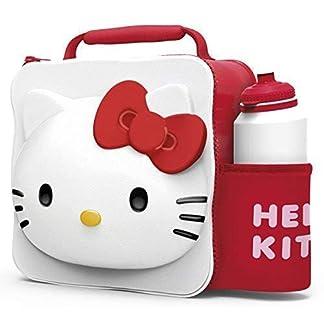 Hello Kitty Niños Infantil 3d FIAMBRERA Mochila Deportivo Bidón