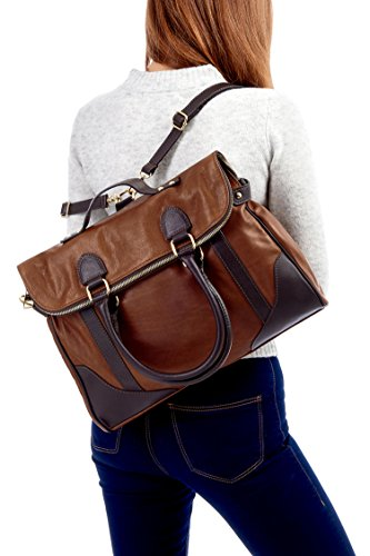 Montte Di Jinne - Sacchetto Donna Light Chocolate/ Black