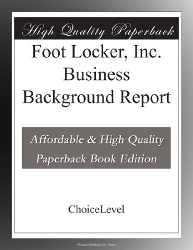 foot-locker-inc-business-background-report