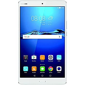 HUAWEI MediaPad M3 21,33 cm (8,4 Zoll) Tablet-PC (WiFi, Fingerabdrucksensor, OctaCore Prozessor, 4 GB RAM, 32 GB interner Speicher, Android 6.0, EMUI 4.1) silber