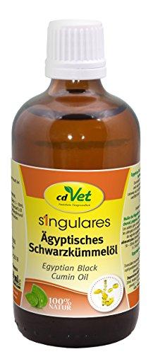 cdVet Naturprodukte Singulares Ägyptisches Schwarzkümmelöl 100 ml