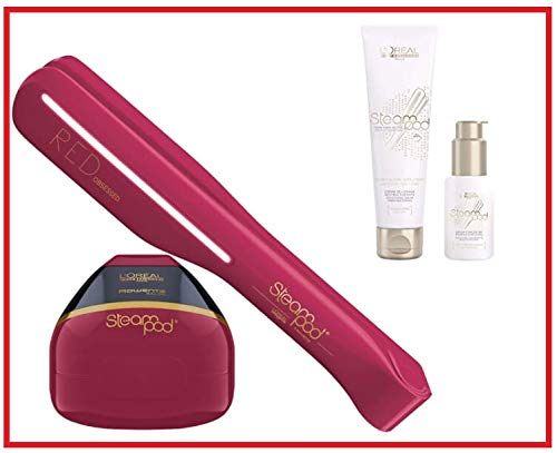 Pack Steampod édition limitée Red Obsessed : Steampod Rouge + produits