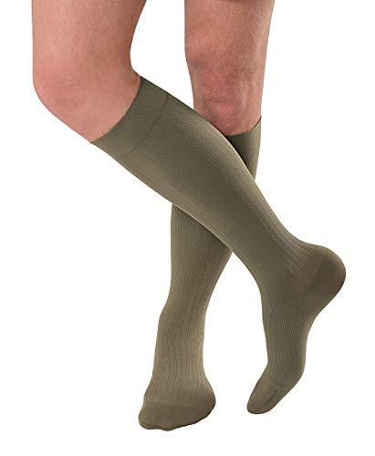 BSN medical/Jobst 7765915Herren Ambition Socke, kniehoch, 15-20mmHg, Khaki, Regular, Größe 6, Paar -
