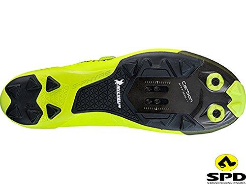 Shimano sh-xc9y–Scarpe–Giallo 2018Scarpe MTB gelb