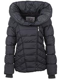 Fresh Made Stepp Mantel Jacke, Größe:M;Farbe:Dark Grey