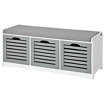 closetmaid cubeicals bench white 47 cm x 35 6 cm x 89 5. Black Bedroom Furniture Sets. Home Design Ideas