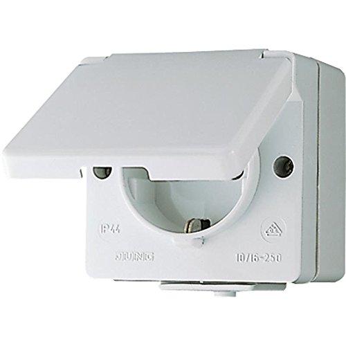 Preisvergleich Produktbild Jung 620 W AP-Steckdose IP44 WG600