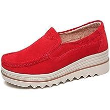 Demax Mocasines Mocasín Ns512 Rojos 3 Niño Zapatos BwBHfqr