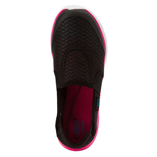 Easy Spirit e360 Myles Femmes Synthétique Chaussure de Marche Black