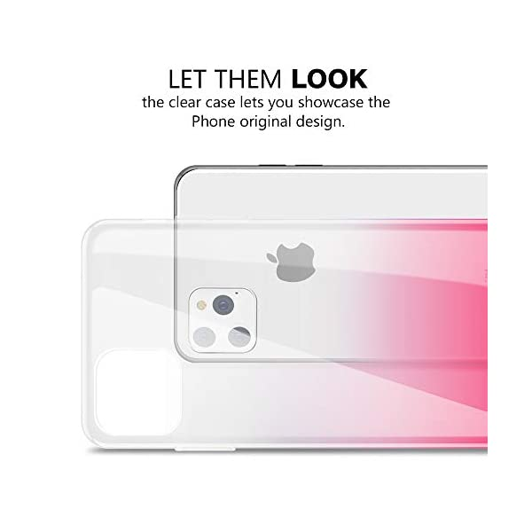 Oihxse Compatible with Samsung Galaxy S9+Plus Case Chic Clear Gradient Colour Design Ultra Slim Back Cover Skin, Soft Silicone Wireless Charge Shockproof Glitter TPU Bumper Shell-Transparent Pink Oihxse 🌈 Slim fit with [Samsung Galaxy S9+Plus ONLY], do not fit for other models. This rubber silicone gel is easily access to all buttons and ports such as headphone jack, charger port, volume button, mute key, etc, while keeps the Samsung Galaxy S9+Plus sensitive response. 🌈 Designed as ultra thin chic [Crystal Clear Gradient Colour] appearance, not only can show the beauty of original smart phone, but also adds more unique taste and stylish sense. 🌈 Made from Soft [Shock Absorbing TPU]material, nontoxic and tasteless, which can protect your Samsung Galaxy S9+Plus from scratches, bumps, impacts, fingerprints and dings. 3