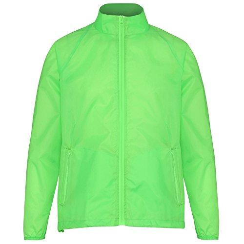 2786 Herren Lightweight Jacket Jacke, Green (Lime 000), L - Hoodie Green Männer Lime