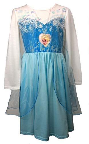 Disney Eiskönigin Frozen ELSA Mädchen Nachthemd Gr. 104,110,116,122/128 Größe 104