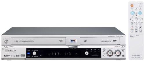 Pioneer DVR-RT 602 H VHS-, DVD- und Festplatten-Rekorder 80 GB Silber - Festplatte Dvr-dvd-rekorder