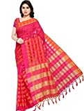 Ethnicjunction Cotton Silk Saree (Ej1162-106_Pink)