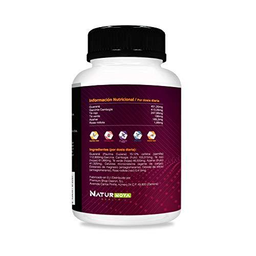 ULTIMATE FAT BURNER -  Quemagrasas | Termogénico | Reductor y Saciante del Apetito | Estimulante del Metabolismo | Fórmula Adelgazante Exclusiva y Eficaz | Ingredientes Naturales -  90 Caps.