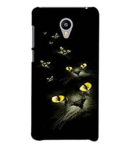 PRINTVISA Cat Eyes Case Cover for Meizu M2 Note