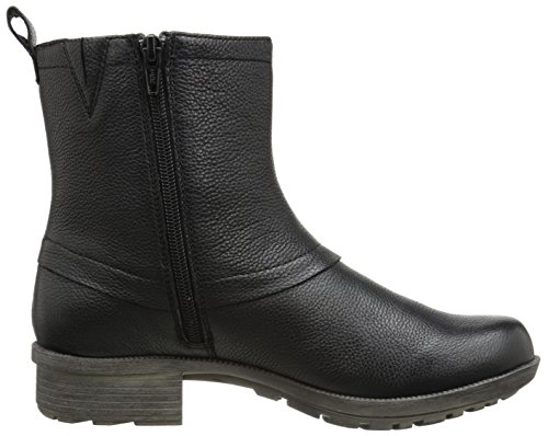 Clarks Riddle Muse Boot Black Leather