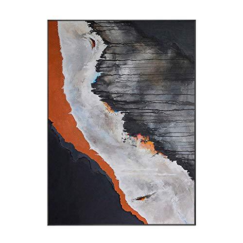Estilo minimalista Arte abstracto Cartel enmarcado